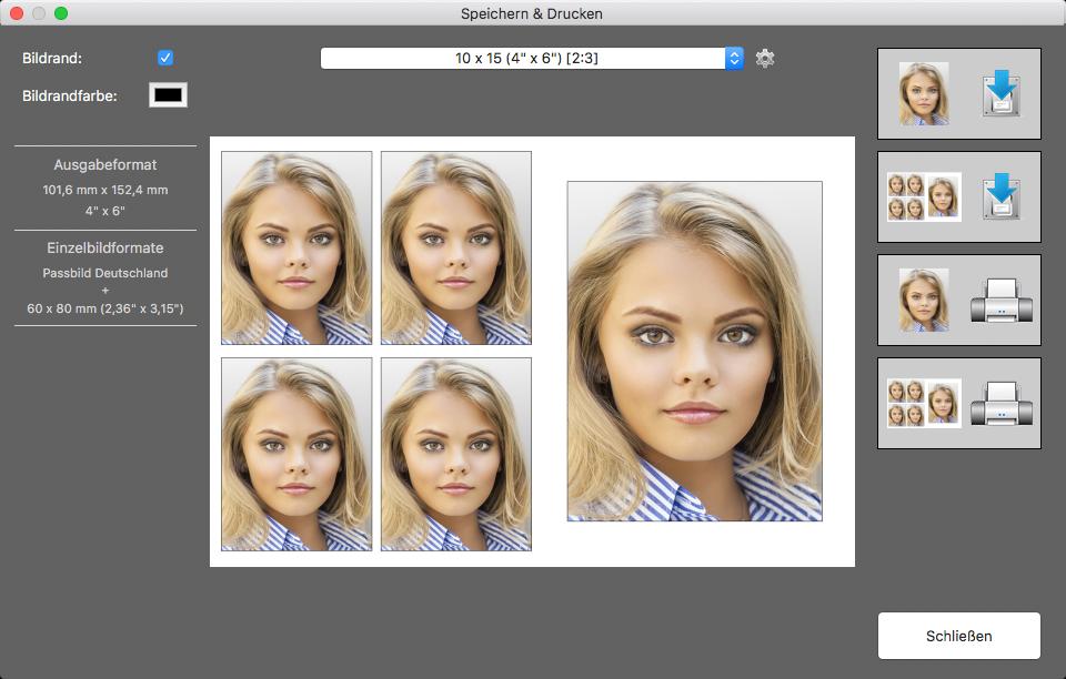 Passbild App Für Mac Os X Biometrische Passfotos